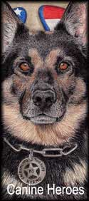 Police K9 Dog Portraits