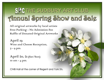 SAC spring show and sale