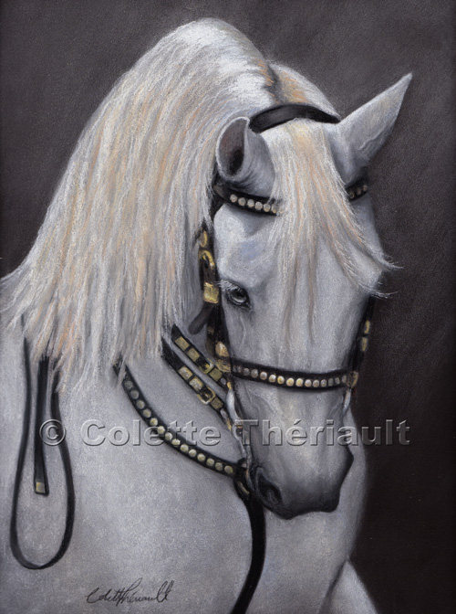 Horse Painting Pastel