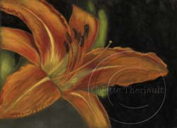 step 3 daylily flower painting