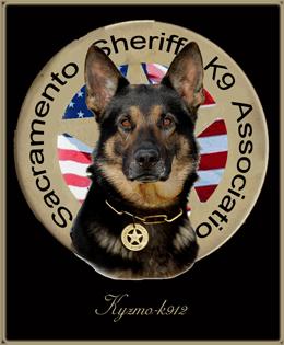 Police dog logo