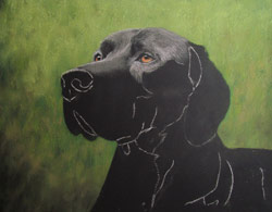 pointer pastel painting step 2